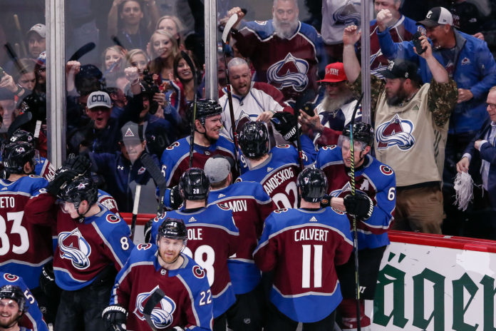 Offside review overturns Avalanche goal after Landeskog's slow change