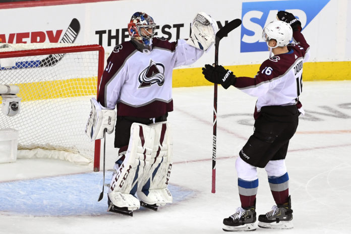 Avalanche move on; Leafs one win away