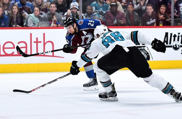DeBoer updates Pavelski's status for Sharks-Avs Game 7