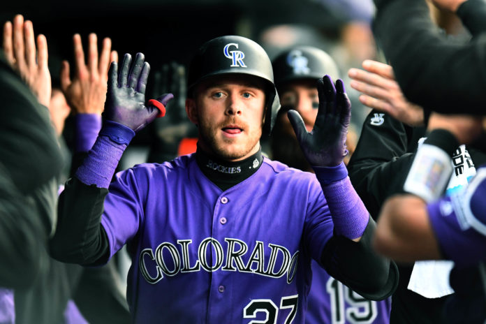 72495c077c0d Rockies crush Padres backed by an offensive onslaught