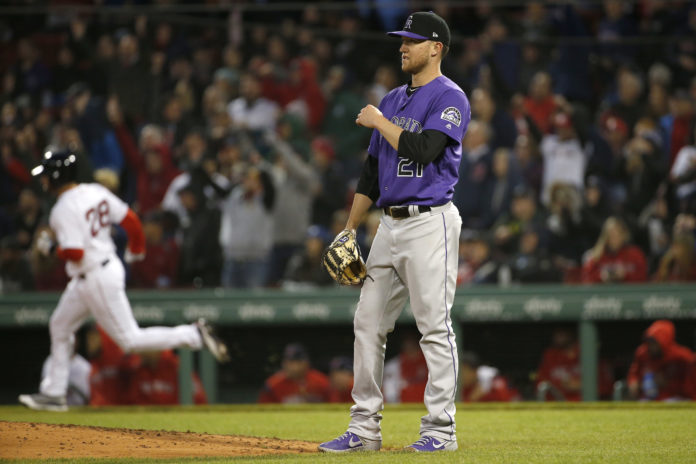 Rockies pull trigger on Freeland demotion, bring in Rusin