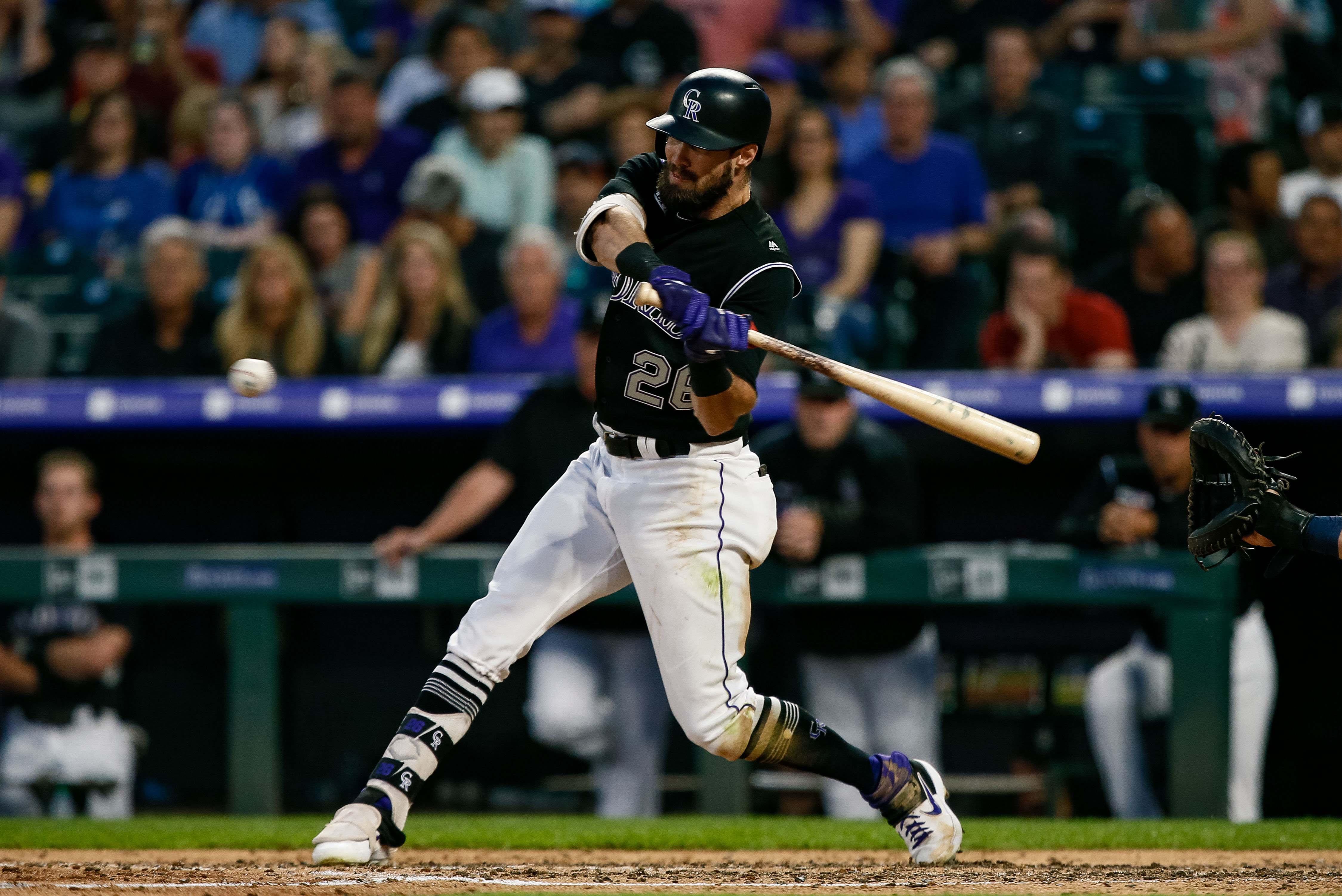 Padres, Rockies Break Four-Game Series Scoring Record