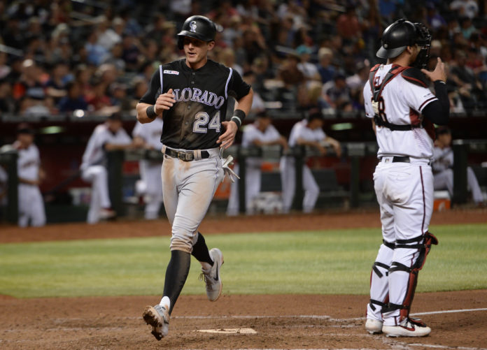 Rockies place Story on IL with thumb injury