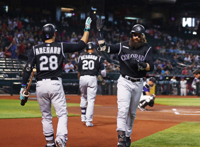Rockies' Story set for MRI on right thumb