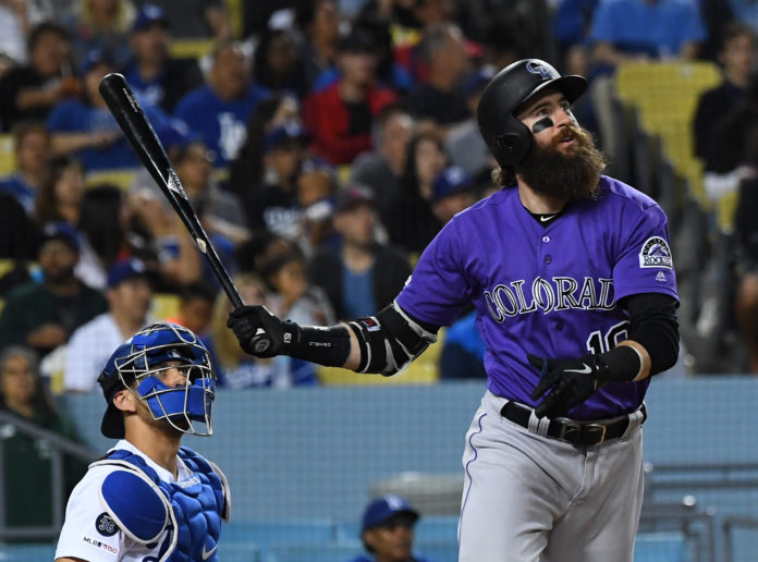 Rockies pound Ryu, Dodgers for 13-9 win