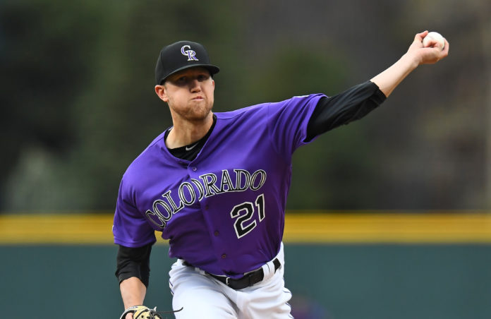 Rockies host the Reds after Gray's strong performance