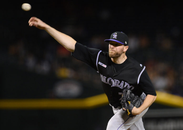 Rockies All-Star Dahl leaves game with foot contusion