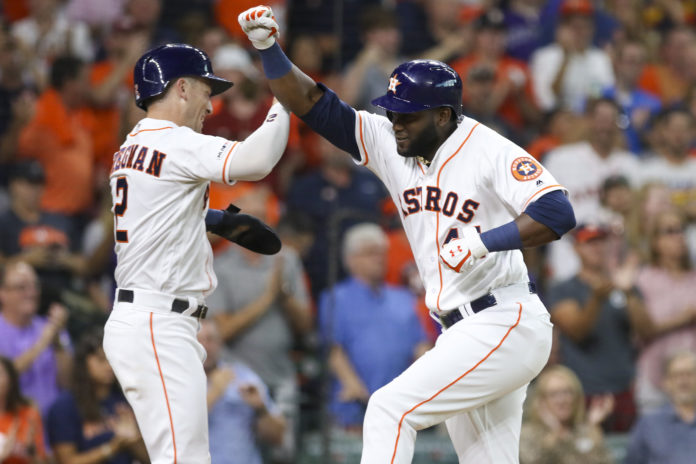 Greinke gives up 5 runs, tying HR in Astros debut