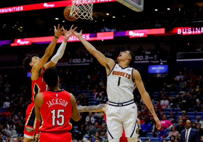 Michael Porter Jr. led the Nuggets in scoring during his National Basketball Association debut