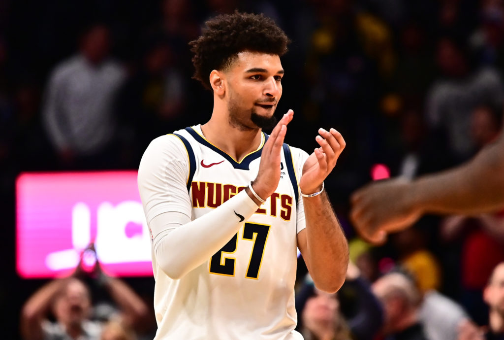 Jamal Murray tossed the ball at Michael Malone in mild disgust. Will Barton urged Nikola Jokic to keep scoring until he reached 50 points.