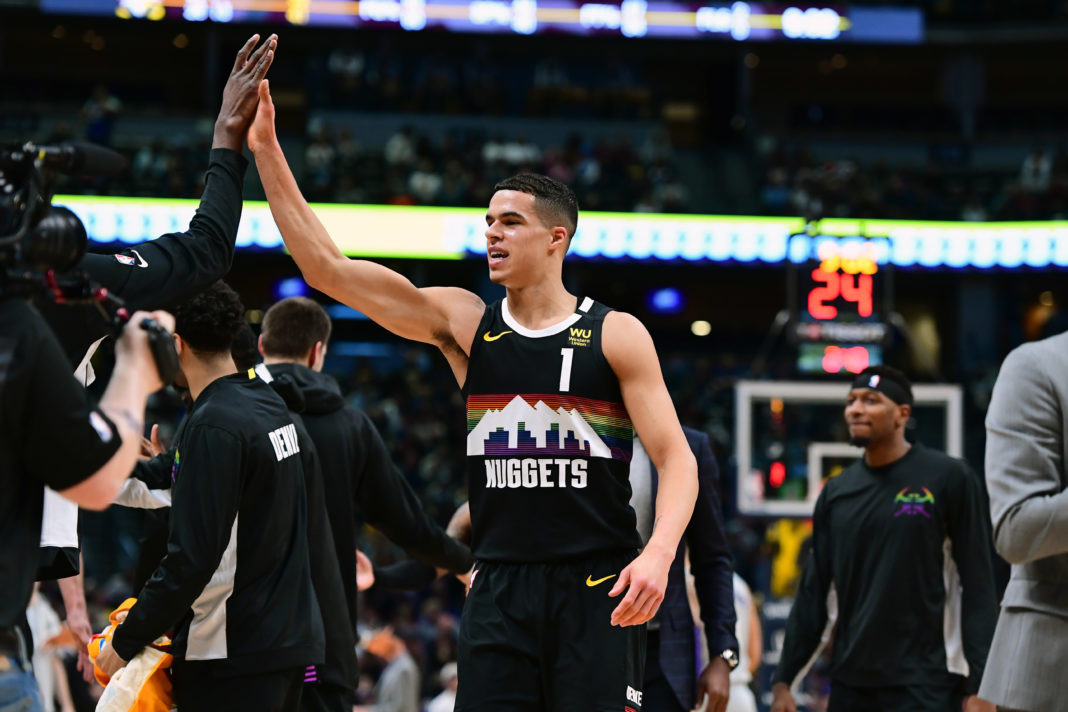 nets nuggets betting