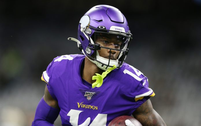 Stefon Diggs. Credit: Chuck Cook, USA TODAY Sports.