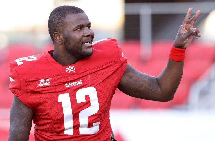 Cardale Jones of the DC Defenders. Credit: Geoff Burke, USA TODAY Sports.