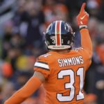 Justin Simmons was franchise tagged recently for $11.15 million. Credit: Isiah J. Downing, USA TODAY Sports.