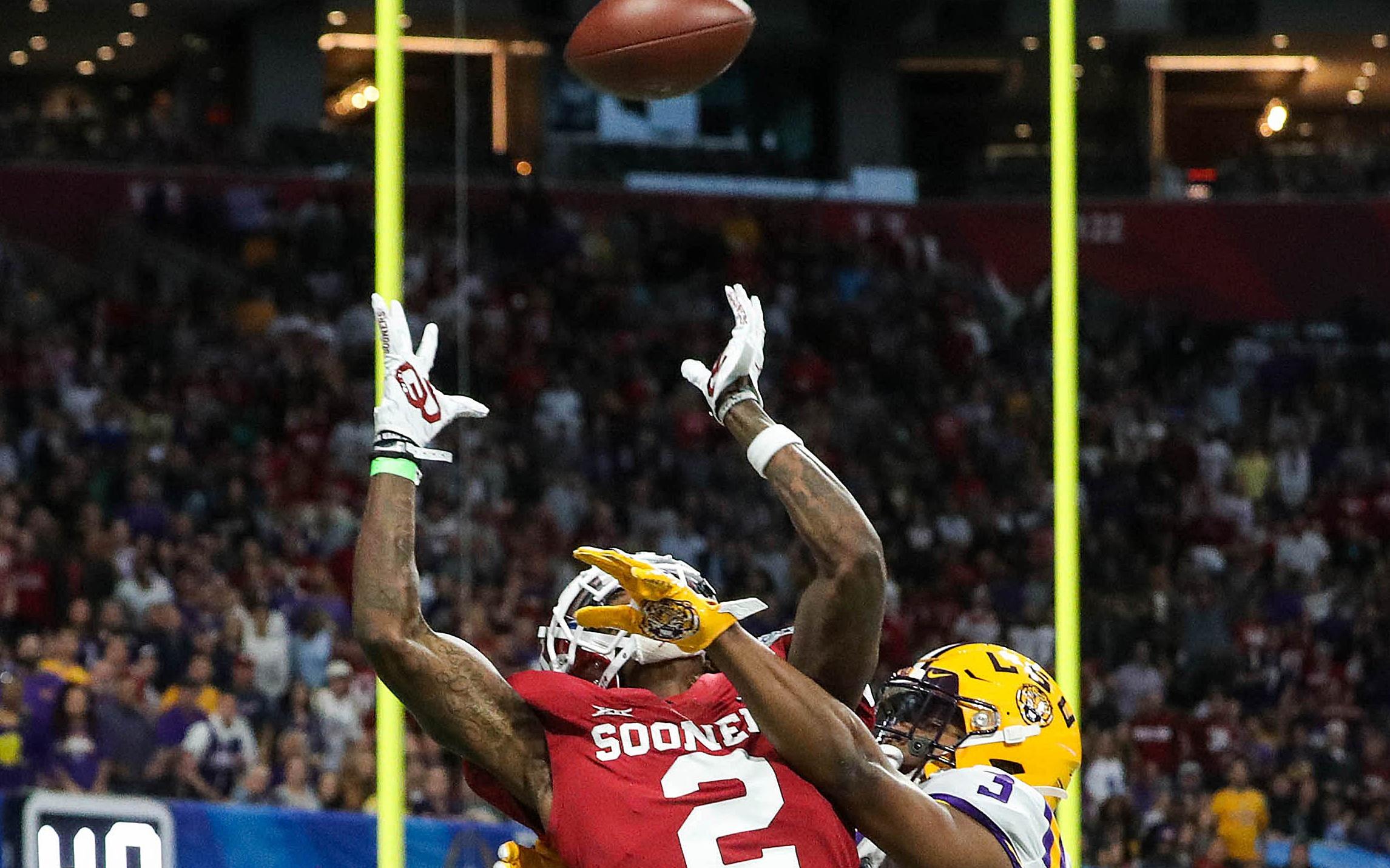 CeeDee Lamb. Credit: Jason Getz, USA TODAY Sports.