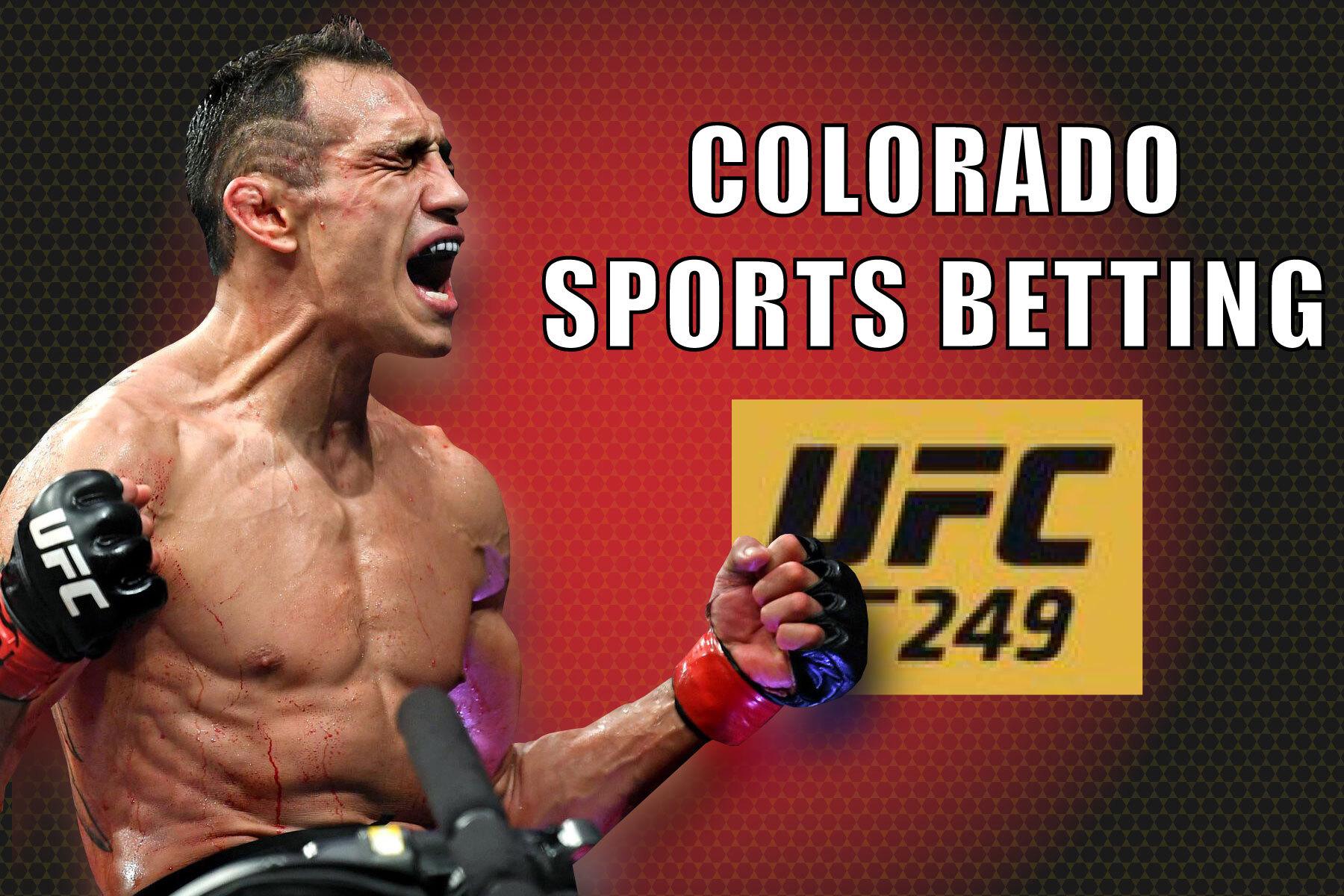 colorado online sports betting ufc 249
