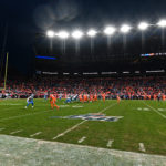 General wide view of Empower Field at Mile High during a game between the Detroit Lions against the Denver Broncos.