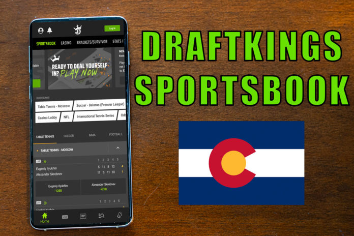 draftkings sportsbook colorado ufc