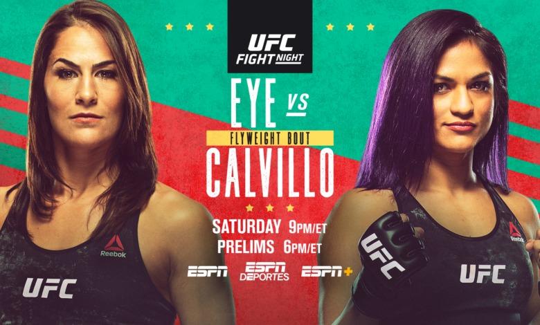 Ufc Fight Night Preview Eye Vs Calvillo