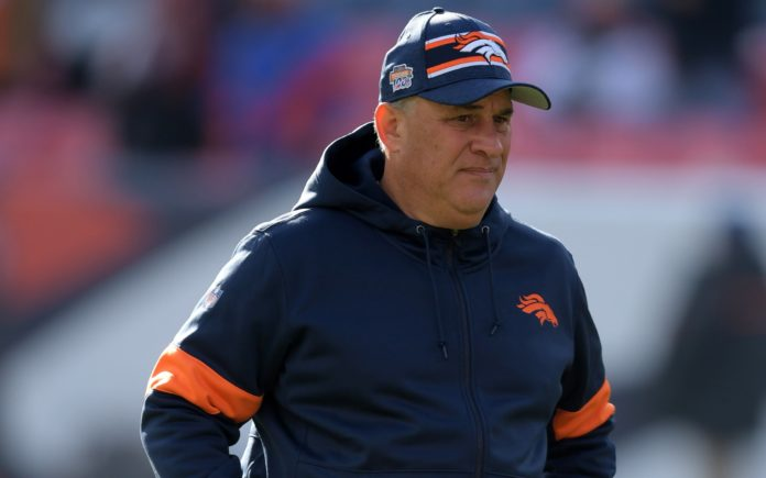 Vic Fangio in December, 2019. Credit: Kirby Lee, USA Today Sports.