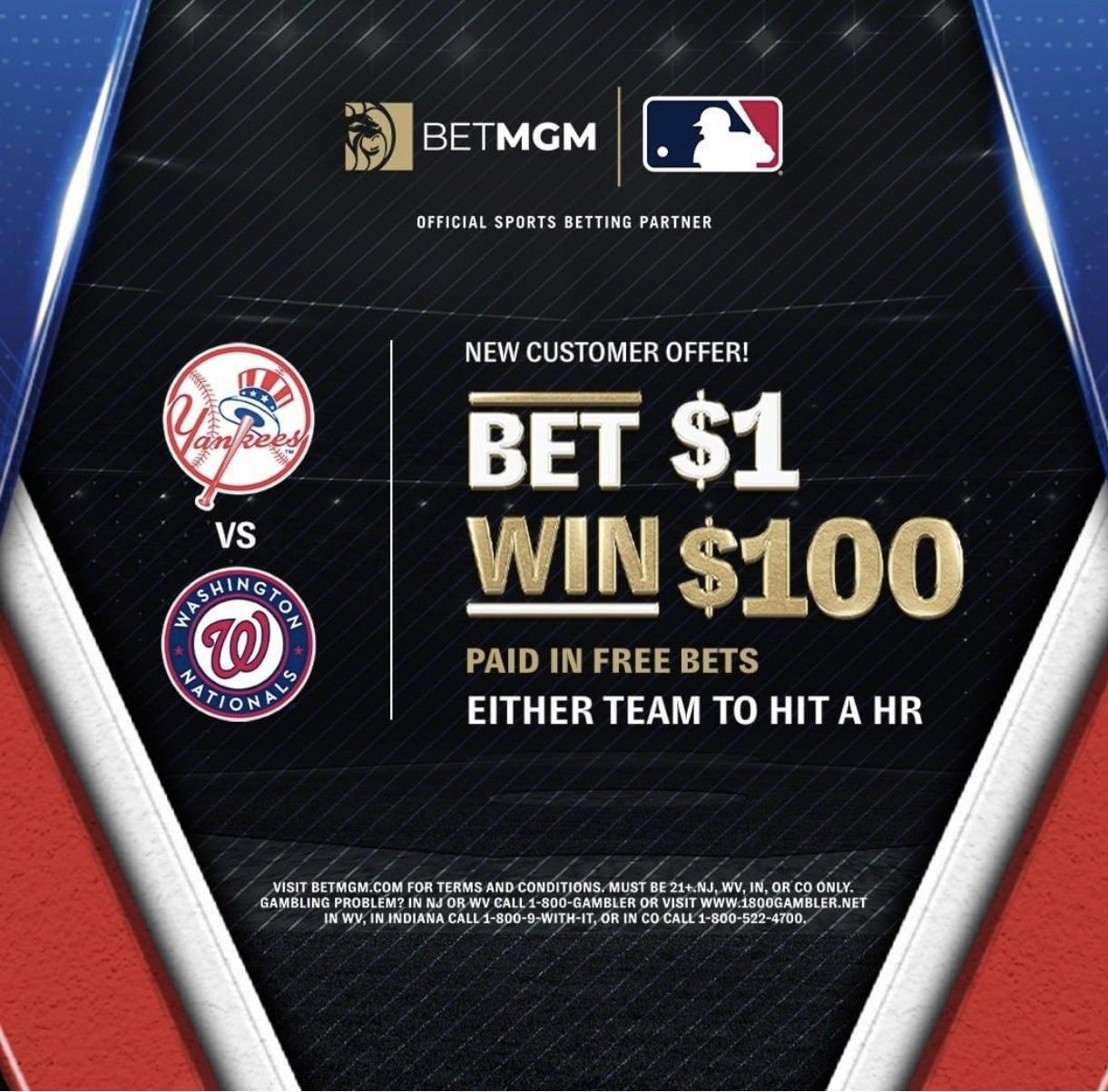 betmgm 100-1 odds opening day