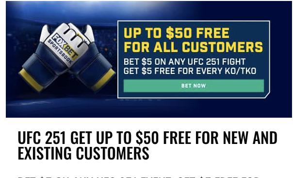 fox sports 1 online ufc betting