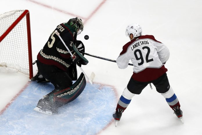 HUB CITY NOTES: Avalanche break though on Kuemper and Coyotes