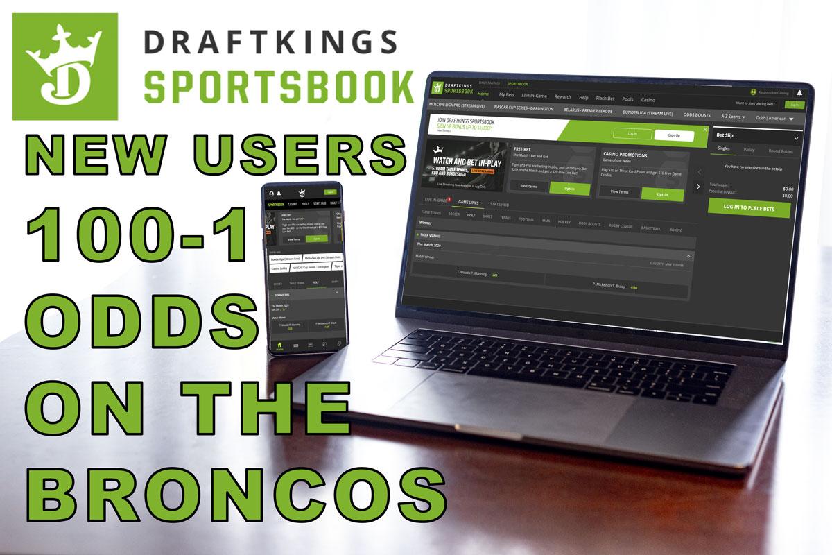 DraftKings 100-1 Broncos