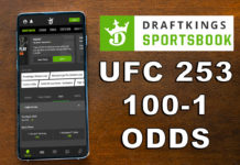 draftkings sportsbook ufc 253