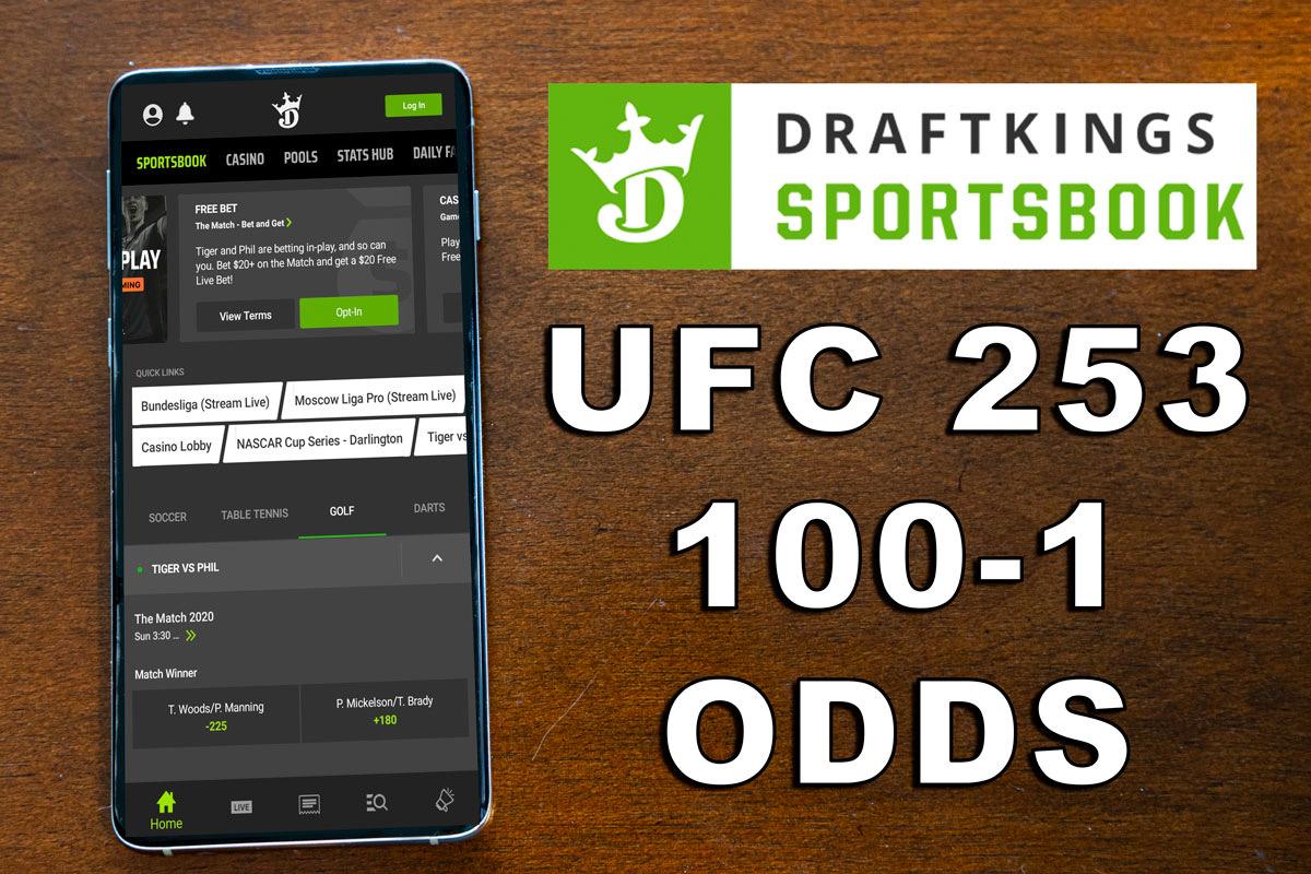 draftkings sportsbook ufc 253