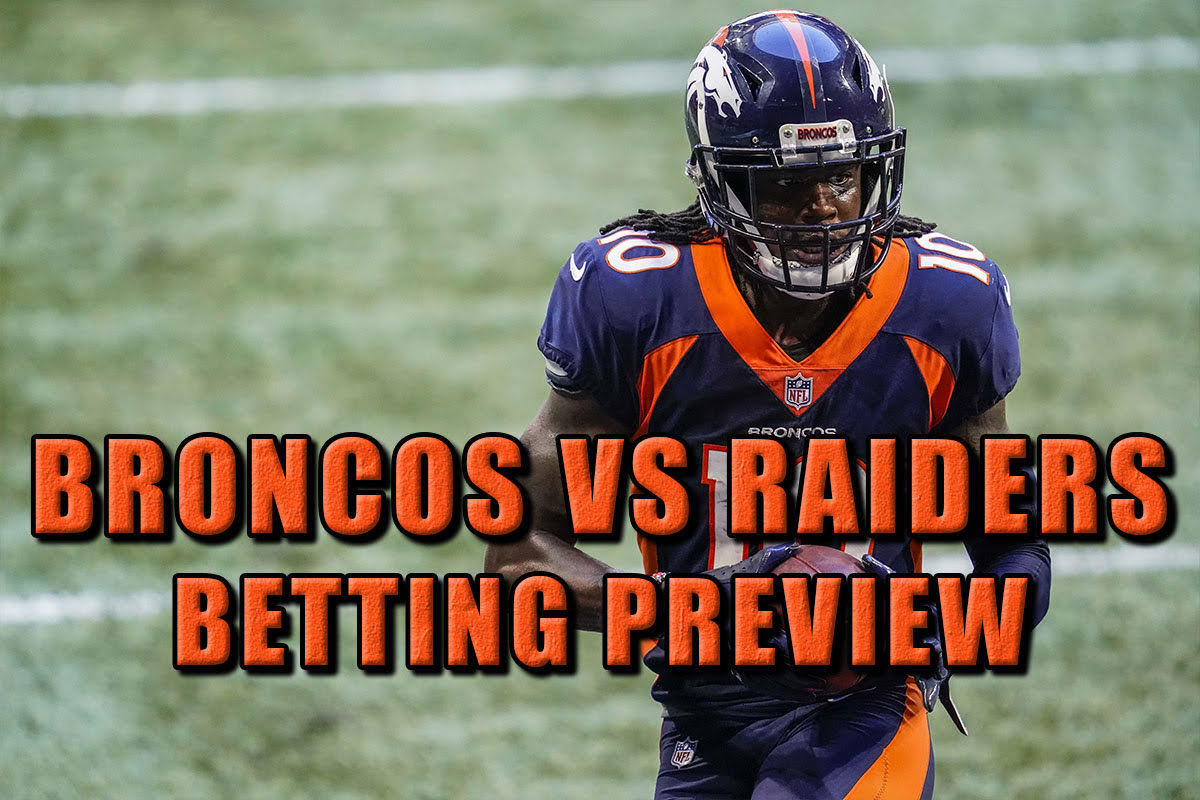Broncos vs raiders betting odds online betting company jobs