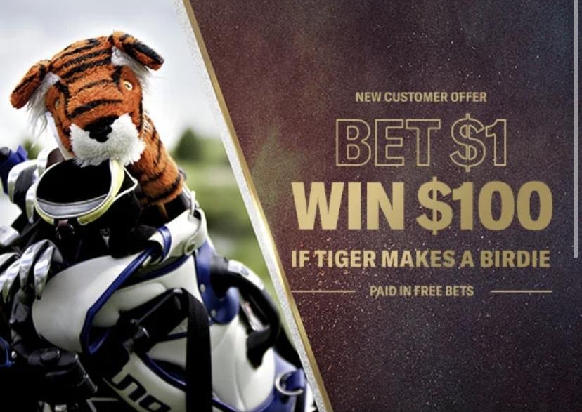 BetMGM 100-1 Odds Tiger