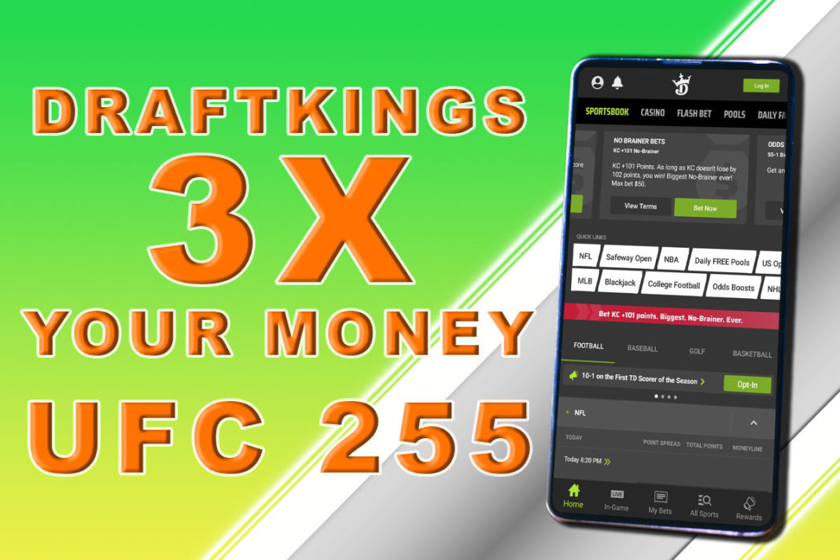 draftkings sportsbook ufc 255