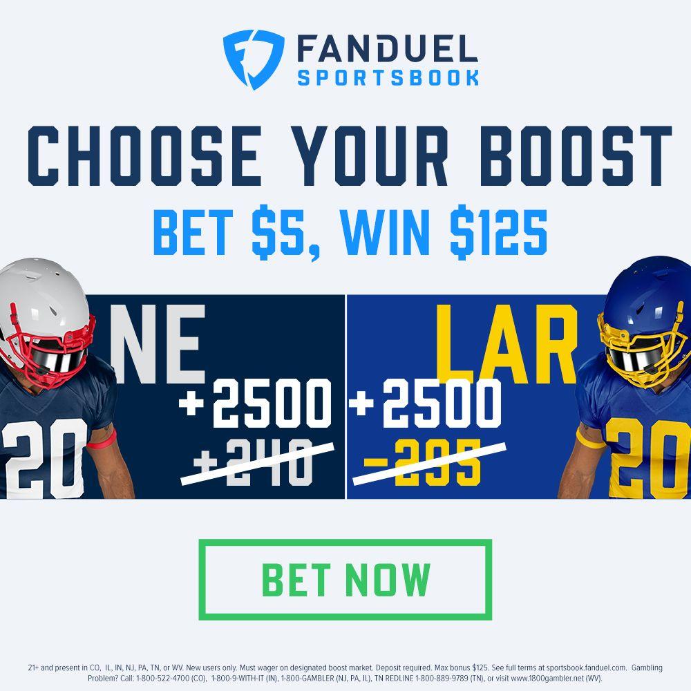 fanduel sportsbook 25-1 odds