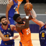 nuggets suns game 1 odds pick