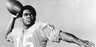 Marlin Briscoe. Credit: UNO Athletics from Lincoln Journal Star.