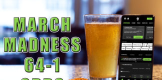 draftkings sportsbook 64-1 march madness odds