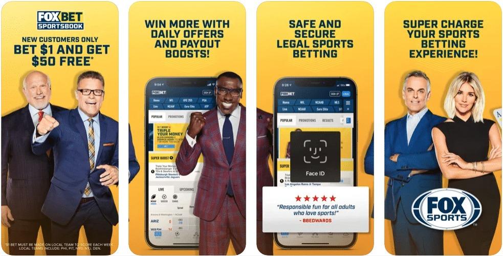 Mile High Sports, FOX Bet Sportsbook Mobile App Screenshot