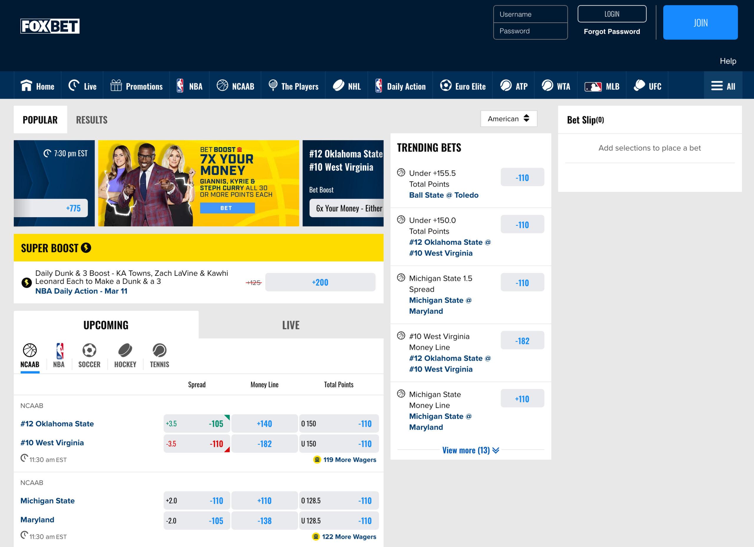 Mile High Sports, FOX Bet Colorado Website