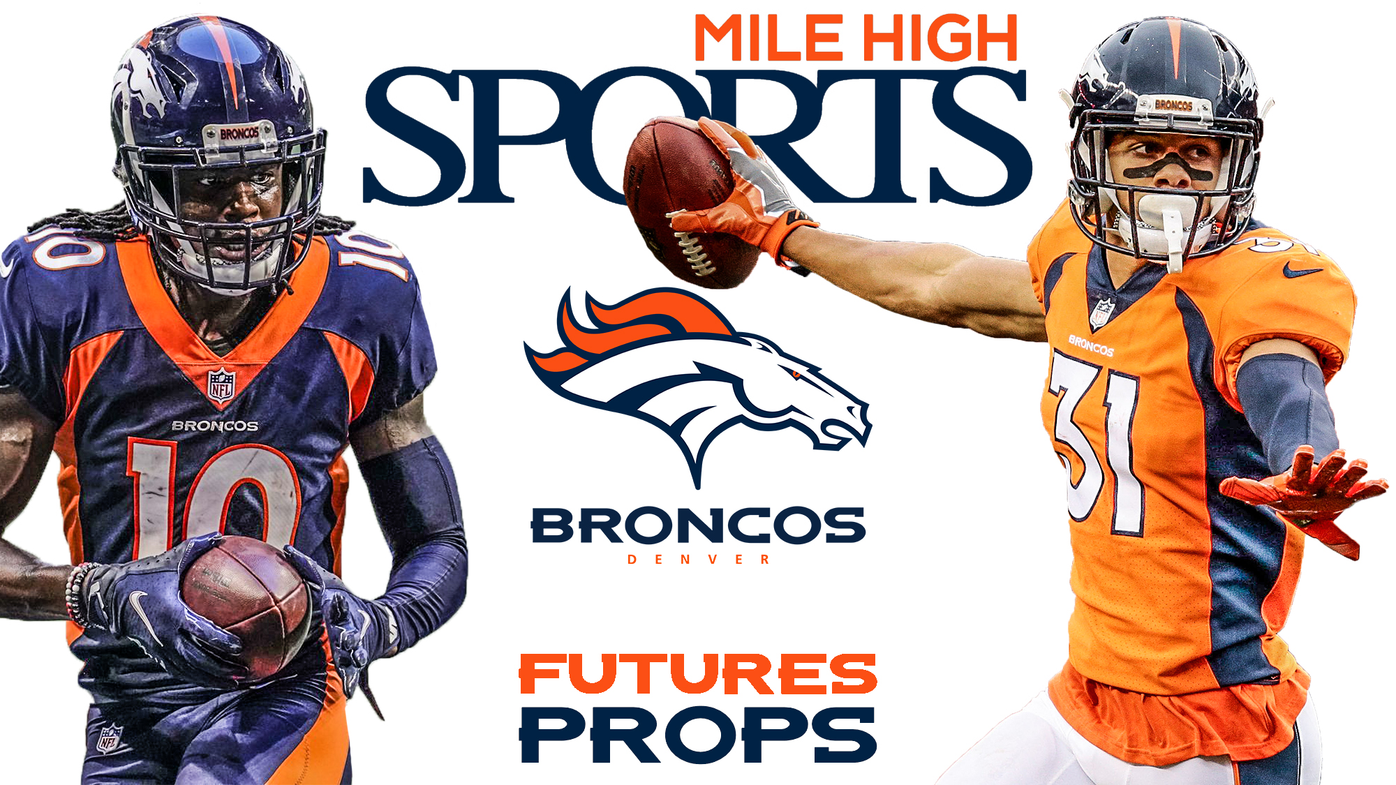 Mile High Sports, Denver Broncos, Futures, Props, Jerry Jeudy, Justin Simmons