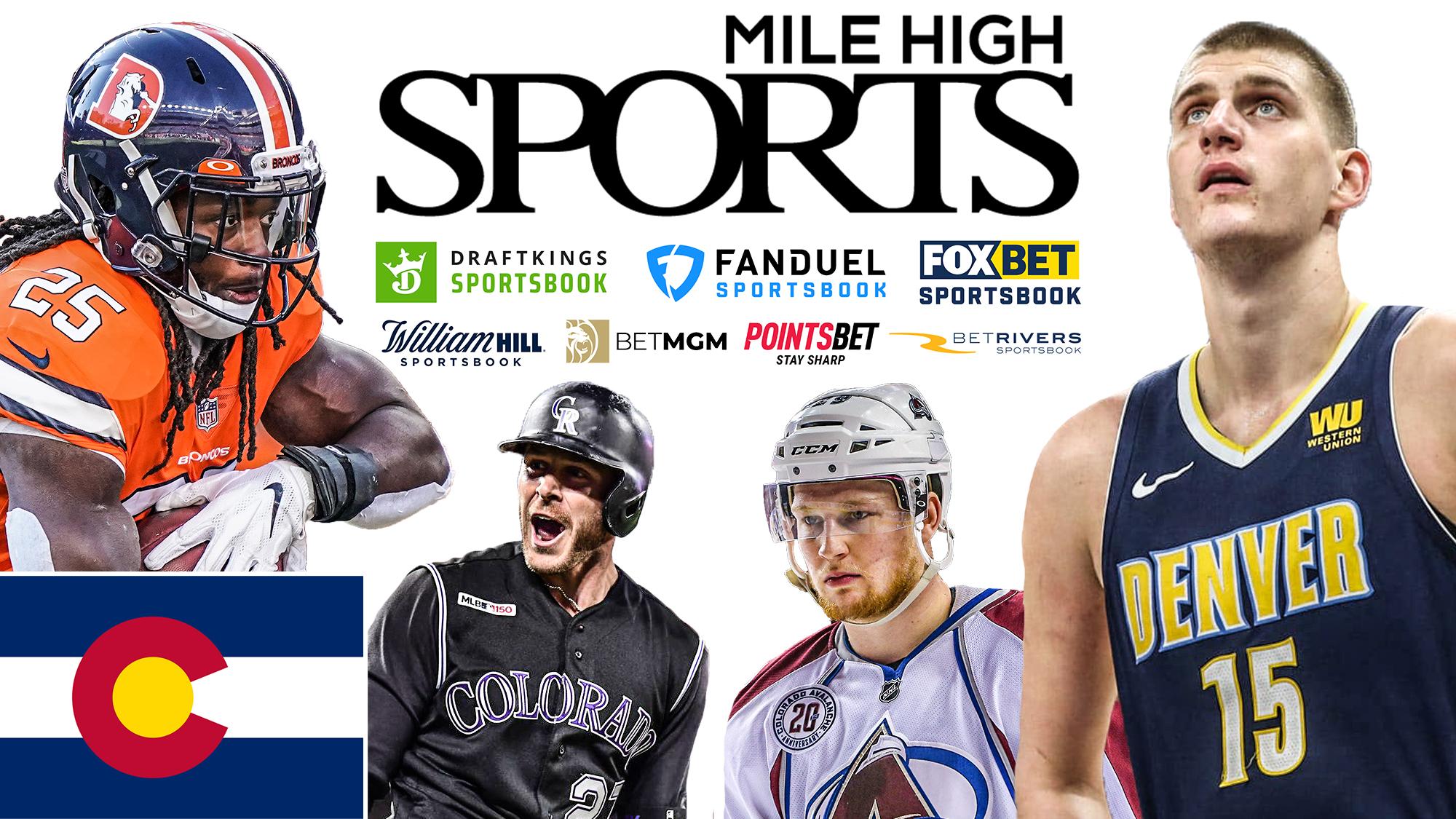Mile High Sports, Colorado Online Sports Betting, Melvin Gordon, Trevor Story, Nathan MacKinnon, Nikola Jokic