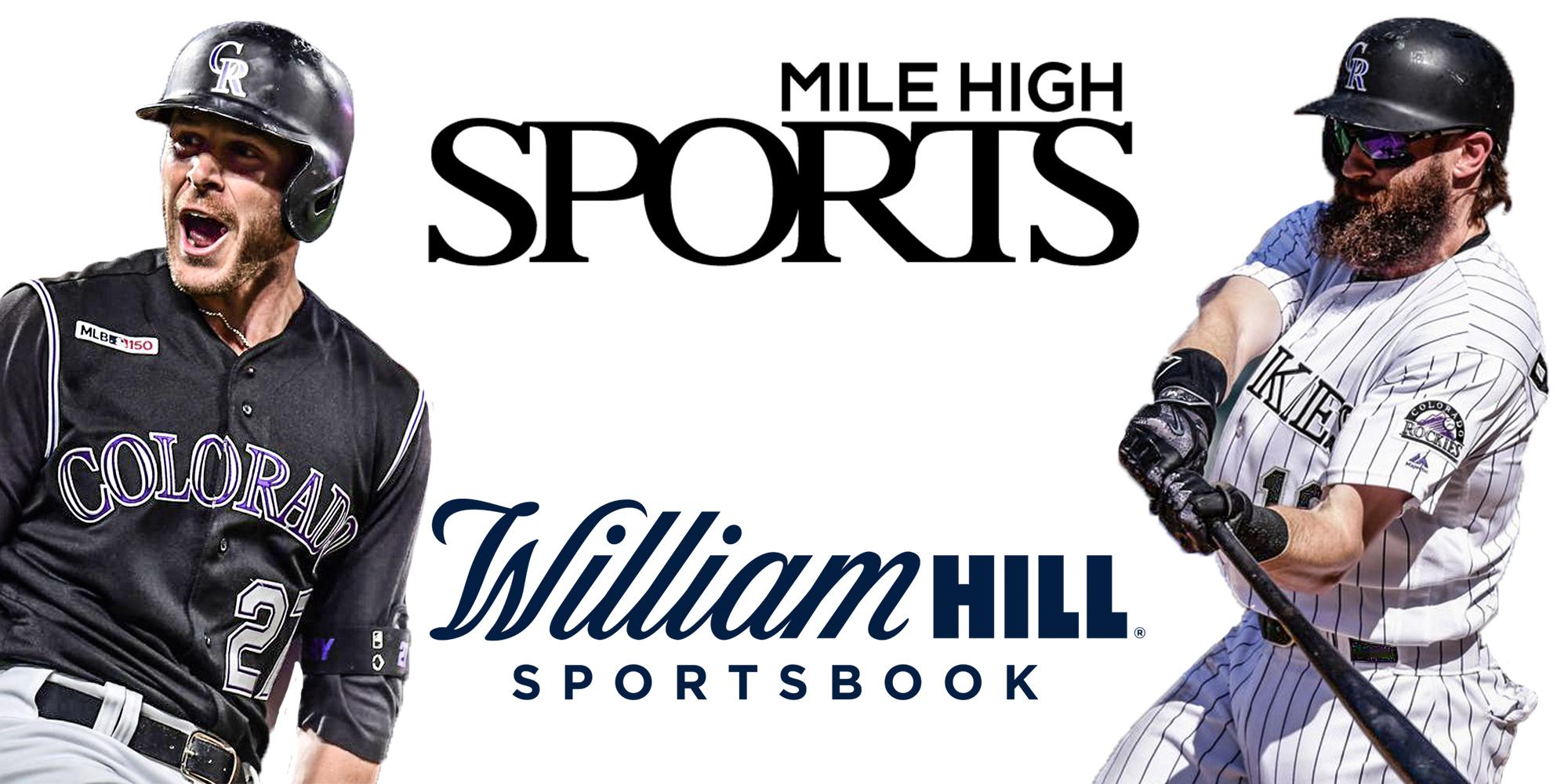 Mile High Sports, William Hill Colorado Sportsbook, Trevor Story, Charlie Blackmon