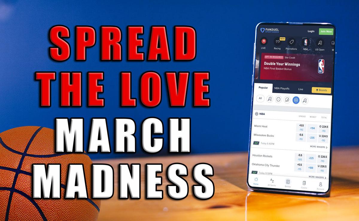fanduel spread the love michigan state