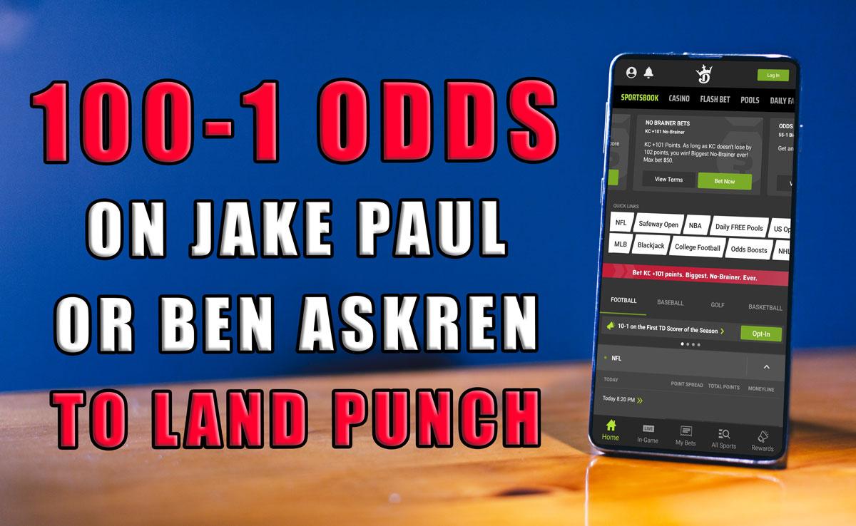 draftkings 100-1 paul askren odds