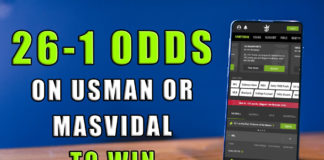 DraftKings Sportsbook UFC 261 26-1 odds