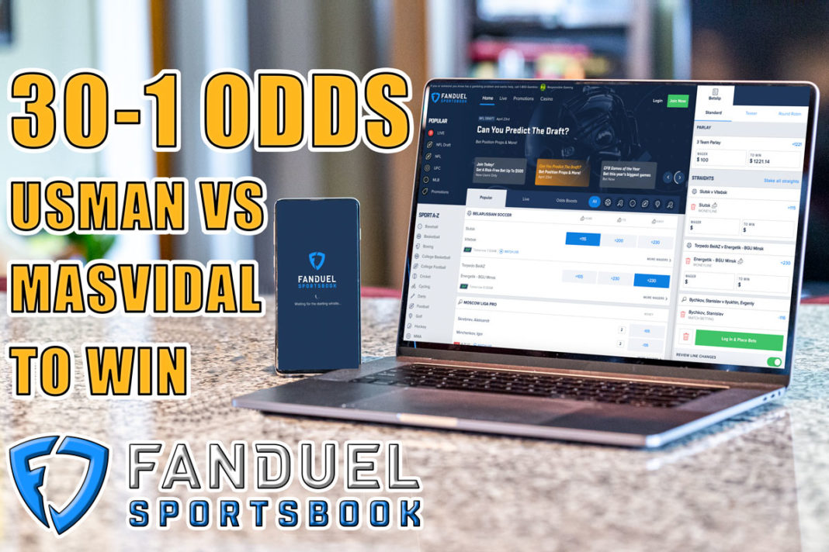 fanduel sportsbook ufc 261 30-1 odds
