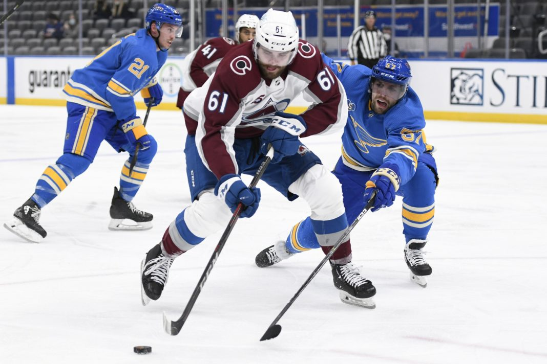 avalanche blues odds pick prediction