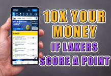 fox bet lakers promo
