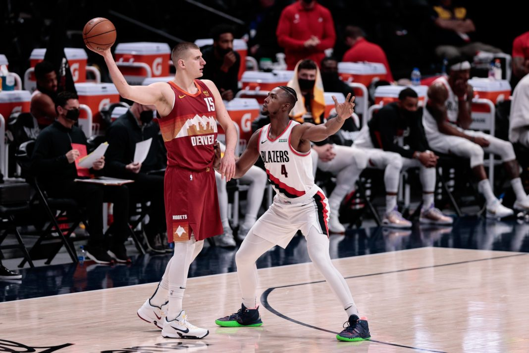 nuggets trail blazers game 3 odds pick