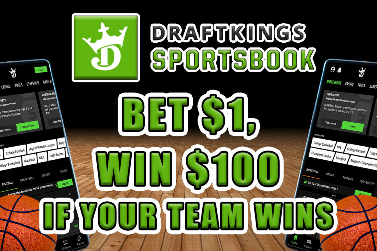 draftkings sportsbook nba 100-1